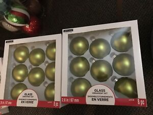 Christmas brand new ornaments