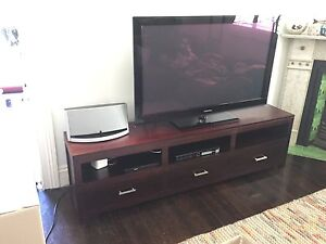 Stunning solid timber TV unit Waverley Eastern Suburbs Preview