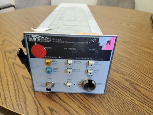 HP - Agilent  5355A Frequency Converter