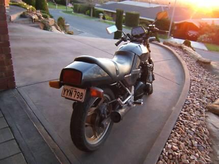 Suzuki 750cc motorcycle