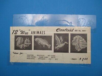 Разное Vintage Billfold Pattern/Template 12 Wee