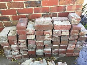 FREE recycled red bricks Surrey Hills Boroondara Area Preview