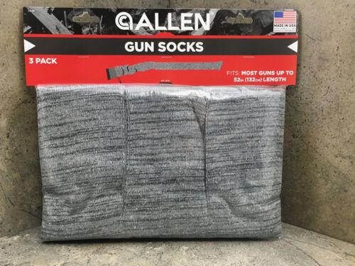 """New Allen Knit Gun Sock 13130  3 Pack 52"""" Long"""