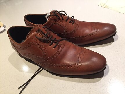 Brand new Base London Spice Wing Oxford shoes (Brown) Spotswood Hobsons Bay Area Preview