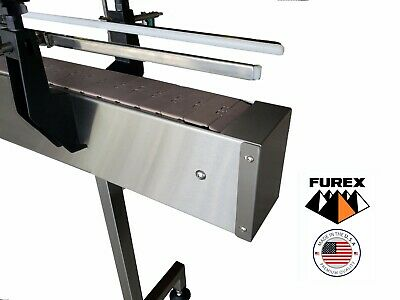 Furex Stainless Steel 6 X 4 Inline Conveyor With Plastic Table Top Belt