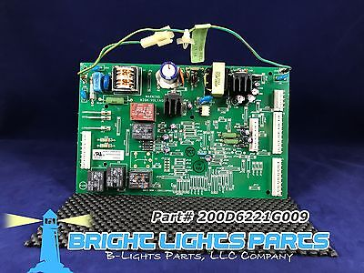 Ge Main Control Board For Ge Refrigerator 200D6221g009 Green