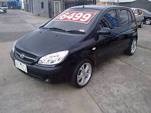 2009 Hyundai Getz Hatchback 79,000 ks Melton Melton Area Preview