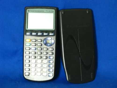 Texas Instruments TI-83 Plus Graphing Calculator Tested Works
