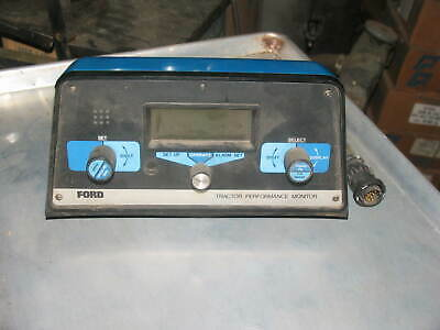 New Holland Ford Tractor Performance Monitor Dickey John