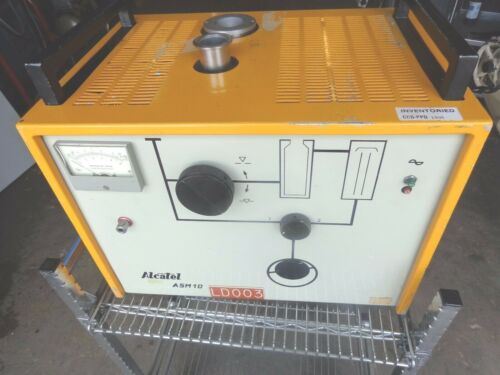 Alcatel ASM-10 Diffusion Pump Helium Leak Detector