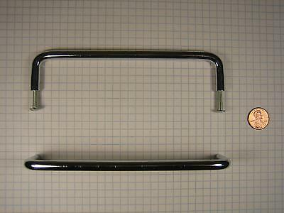 FERUM #PB1486-(POLISHED CHROME) WIRE PULL, SOLID BRASS,  6