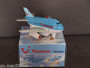 Thomson Airways Fun Plane with Sound & Lights New & Boxed - Premier Portfolio