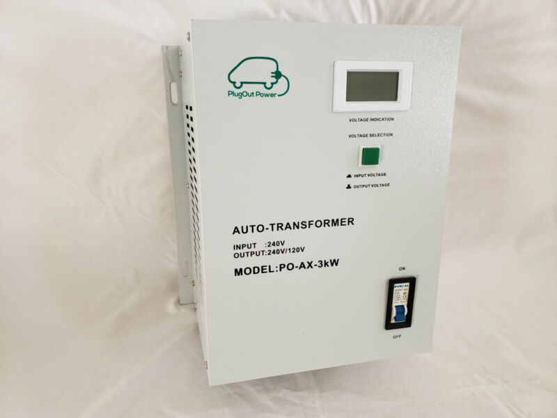 Autotransformer 4kva, New in-box, 240vac to splitphase 240/120vac
