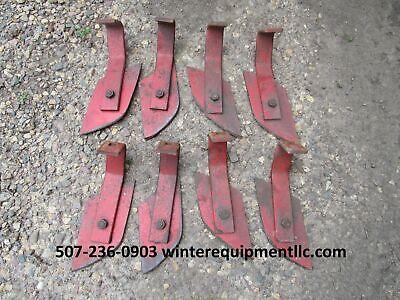4 Mf 520 620 820 Disc Scrapers Disc Harrow Massey Ferguson 664784m1 664783m1