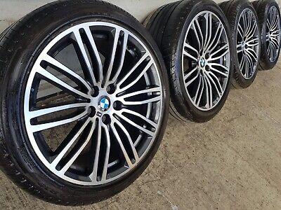 "Genuine BMW 5 Series G30 G31 19"" 664 M Sport Alloy Wheels & Tyres Mint"