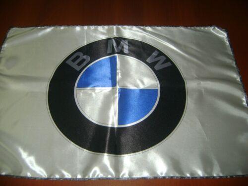 BMW Logo 20x30 Flag Banner Show Garage Racing Shop Deco M3 M4 M2 X3 X5 X6 white