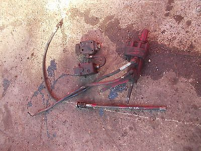 Farmall 400 450 Tractor Ih Control Valves Complete Behlin Power Steering 350 300