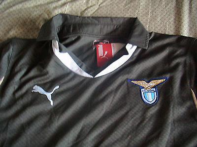 Lazio Soccer Team - Team Lazio Mens Official Soccer Jersey Puma Size L Olive Green 2010