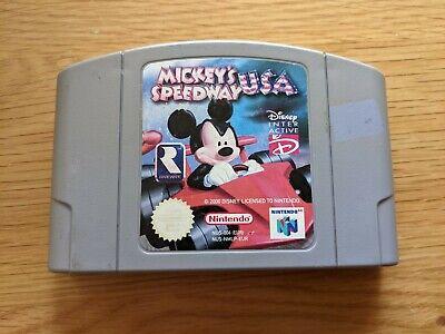 Mickey's Speedway USA - N64 Nintendo 64 - Cartridge - PAL - Fast Free UK Postage