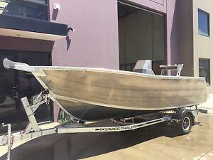 URGENT SALE!!!  5.3m centre console plate aluminium boat Carrum Downs Frankston Area Preview