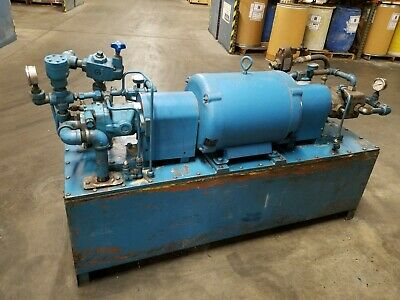 Hydraulic Power Supply 30 Hp Vickers Unit Used