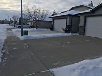 SNOW REMOVAL in LETHBRIDGE ,BEST VALUE