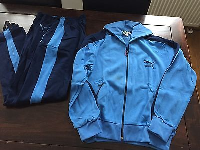 Vintage Puma Track Suit 1970's Rare Made in West Germany Vlado Stenzel Deadstock