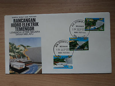 Malaysia 1979 19 Sep FDC Opening of Temengor Hydro-Electric Power Station