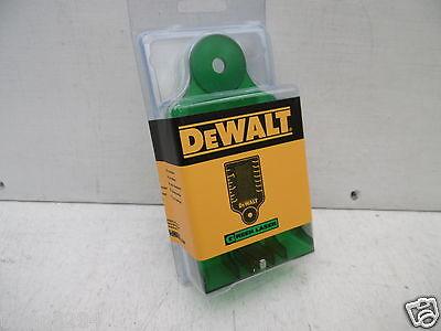 DEWALT GREEN BEAM  LASER LEVEL TARGET CARD DE0730G SPECIAL OFFER