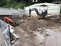 Excavation, Grading, Weeping Tile, Trenches and More
