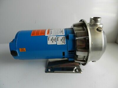Goulds 2st1e2e4 Stainless Centrifugal Pump 1.25 X 1.5 1hp 3 Phase