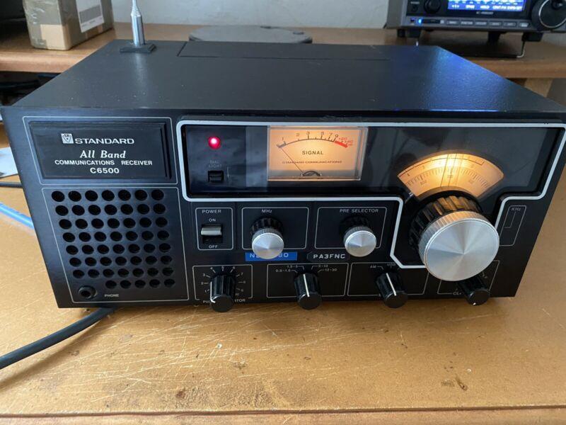 Standard C6500 Communications Shortwave Receiver AM SSB CW Radio  Collector Item