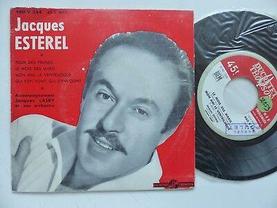Pour Des Prunes (JACQUES ESTEREL Pour des prunes ... Orchestre JACQUES LASRY 460 V 354   RRR)