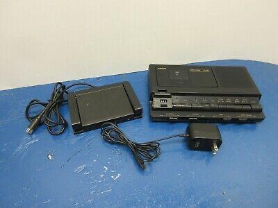 Sanyo Trc-8800 Memo-scriber Electric Cassette Player Dictation Transcriber Syste