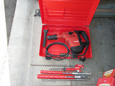 Hilti Te 60 Atcavr Sds-max 115vac Hammer Chipping Wlot Bits Kit Combo 911