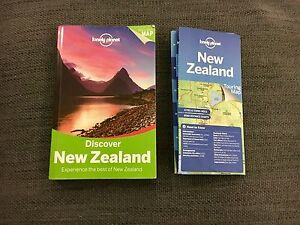 Lonely Planet Discover New Zealand Travel Guide and Map Potts Point Inner Sydney Preview