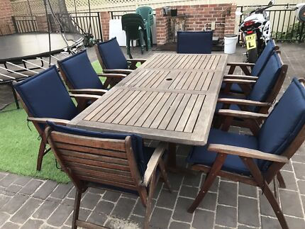 Outdoor 8 seater