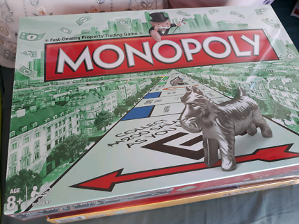 3 different versions of Monopoly