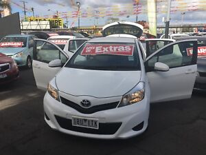 2014 Toyota Yaris Hatchback Maidstone Maribyrnong Area Preview