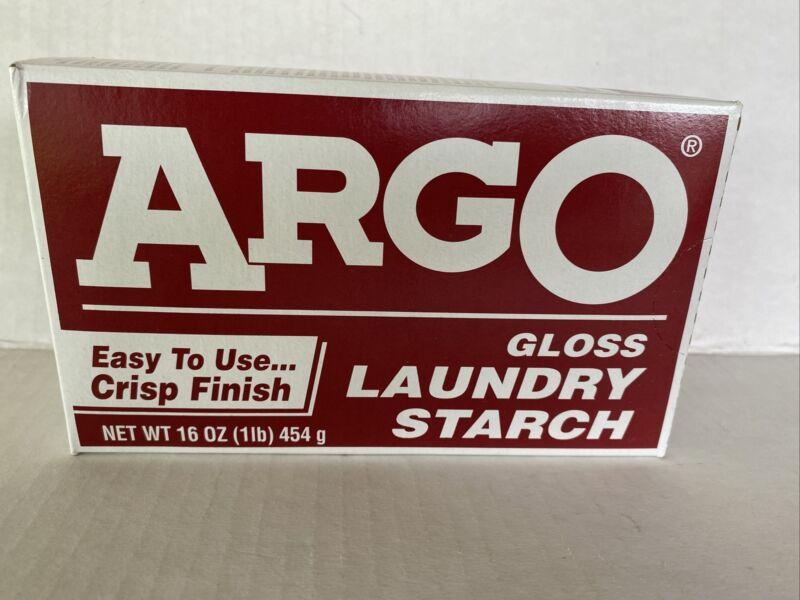 Argo Gloss Laundry Starch 1lb Box Multi Purpose