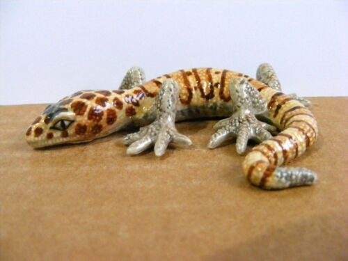Northern Rose Retired Western Banded Gecko Miniature Animal Figurine