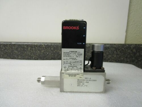 Brooks Instruments N2 Smart Mass Flow Controller 5851-S
