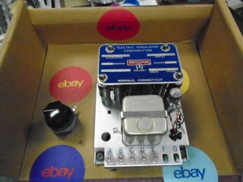 reg ohm generator voltage regulatormilitary generator 15326x with resistor
