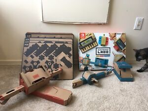 Nintendo Switch Labo - Partly Constructed
