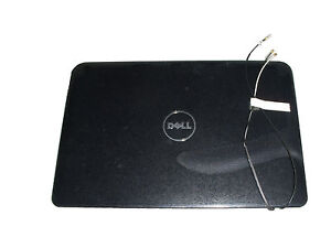 NEW Genuine Dell Inspiron Mini 1012 Black LCD Cover JNHKX/0WKPX