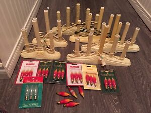 8 Christmas candle light sets (last 2 are small)