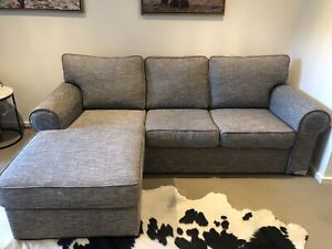 3 seater lounge with reversible chaise
