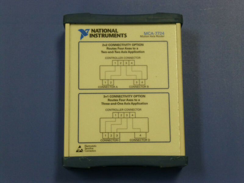National Instruments NI MCA-7724 Motion Axis Router