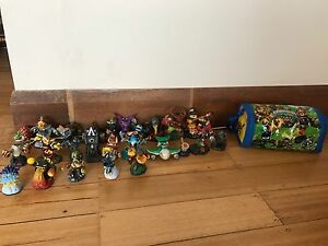 Skylanders Figurines + Swap Force Carry Bag. Sandy Bay Hobart City Preview