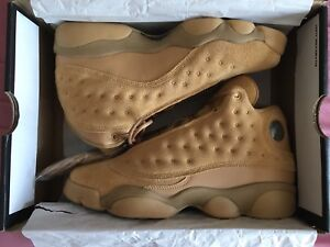 """TODAY ONLY!!!! DS AIR JORDAN RETRO 13 """"WHEAT"""""""